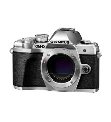 Olympus E-M10 Mark III - Cámara sin espejo, sólo cuerpo, color Plata