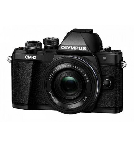 Olympus E-M5 Mark II - Cámara sin espejo, incluye 14-42mm, color Negro