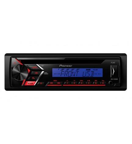 Pioneer DEH-S100UBB - Autoradio, puerto USB, entrada auxiliar, color Azul