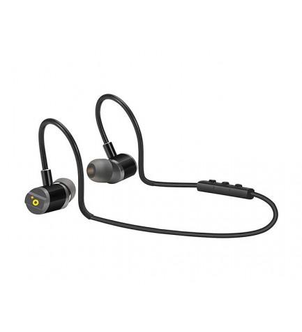 Sunstech Bolt - Auriculares bluetooth, micrófono incorporado, color Negro
