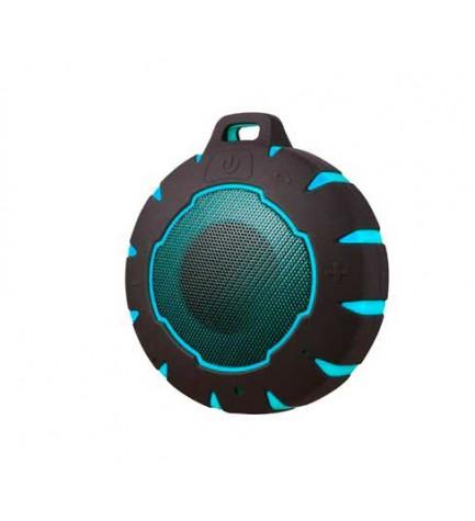 Sunstech SPBTAQUA - Altavoz bluetooth, potencia 3w, micrófono incorporado, color Azul