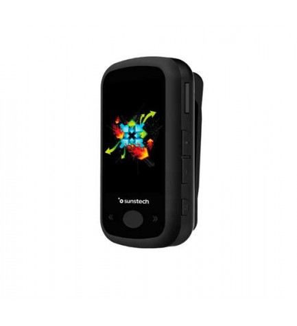 Sunstech IBIZABT - Reproductor MP4, capacidad 8 GB, pantalla 1.8 pulgadas, FM, bluetooth, color Negro