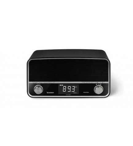 Sunstech RPRUBT5000 - Radio retro, bluetooth, puerto USB