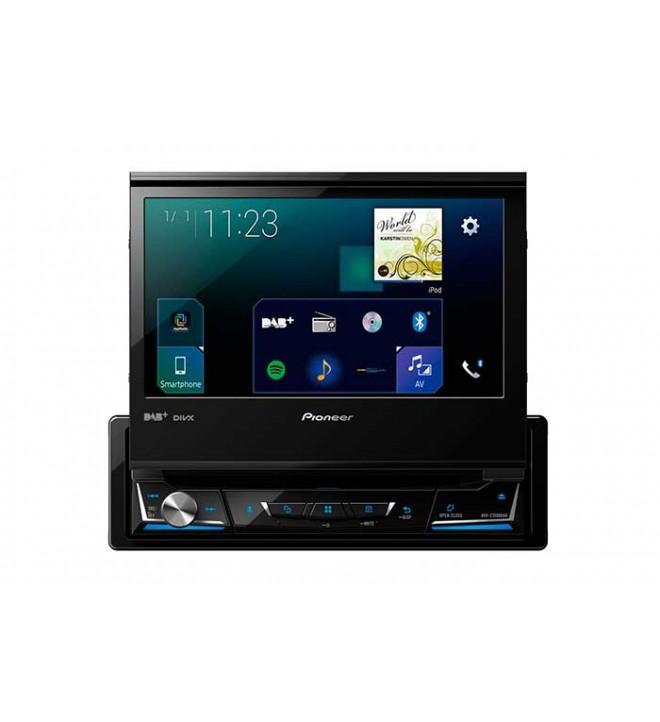 Pioneer AVH-Z7000DAB - Reproductor multimedia, pantalla 7 pulgadas, 1DIN