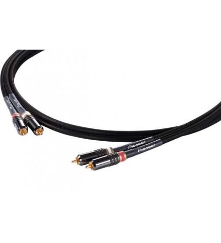 Pioneer DAS-RCA020R - Cable RCA, longitud 2 metros, analógico