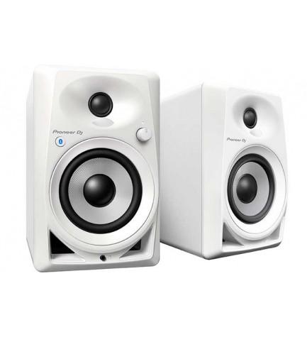 Pioneer DM-40BT - Altavoces DJ, bluetooth incorporado, color Blanco