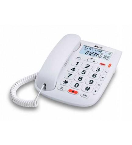 Alcatel TMAX20 - Teléfono móvil, teclas grandes, color Blanco