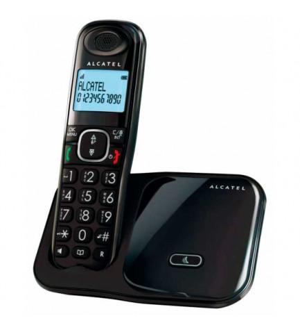 Alcatel XL280 - Teléfono inalámbrico, color Negro