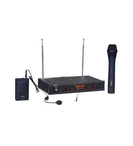 Boost VHF2H - Sistema de micrófonos, 2 canales