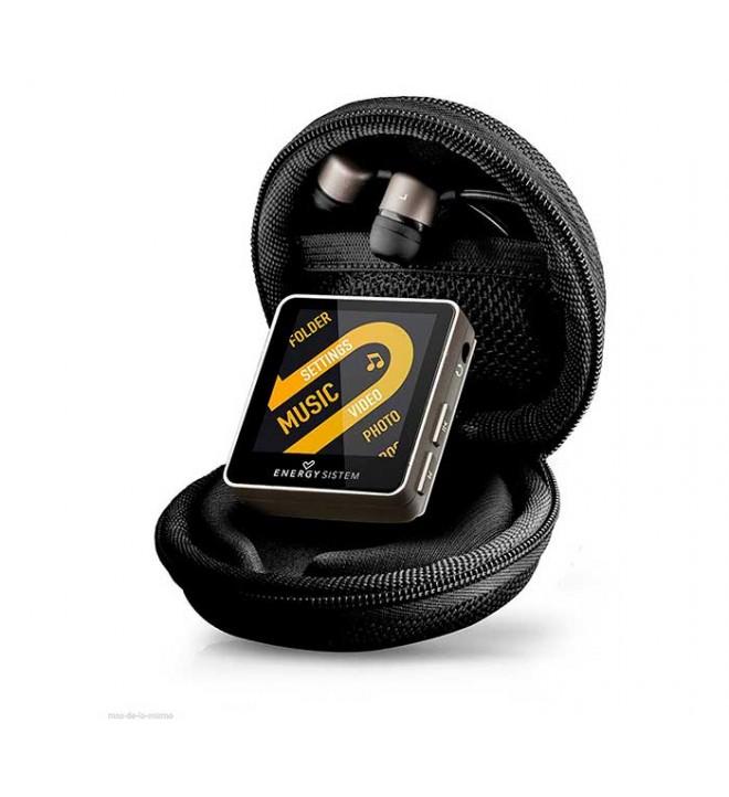 Energy sistem 2508 URBAN - Reproductor MP4, memoria interna 8 GB, incluye estuche, color Negro