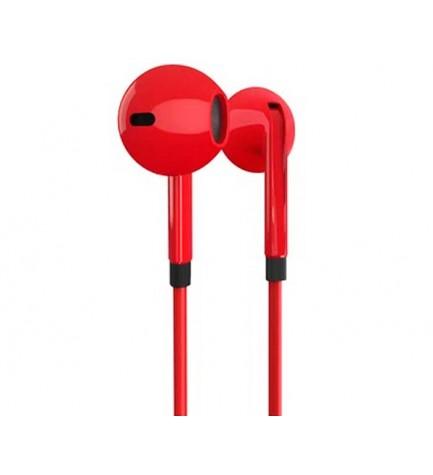 Energy sistem EAR 1 - Auriculares bluetooth, micrófono incorporado, color Rojo