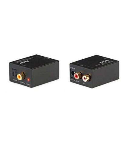 Fonestar FO-37DA - Convertidor de audio, digital a analógico