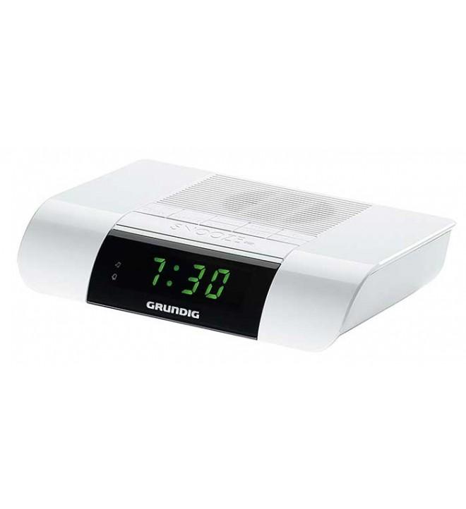 Grundig KSC35 - Despertador, sintonizador FM, digital, color Blanco