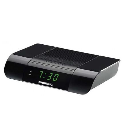 Grundig KSC35 - Despertador, sintonizador FM, digital, color Negro