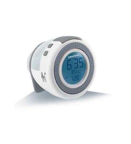 Grundig SONOCLOCK 230 - Despertador, color Blanco Gris