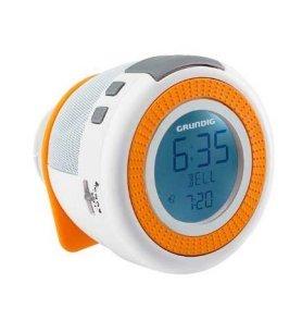 Grundig SONOCLOCK 230 - Despertador, color Blanco Naranja