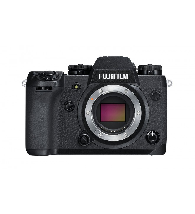 Fujifilm X-H1 Cámara digital sin espejo, 24.3 Mpx, video 4K 30fps, color negro