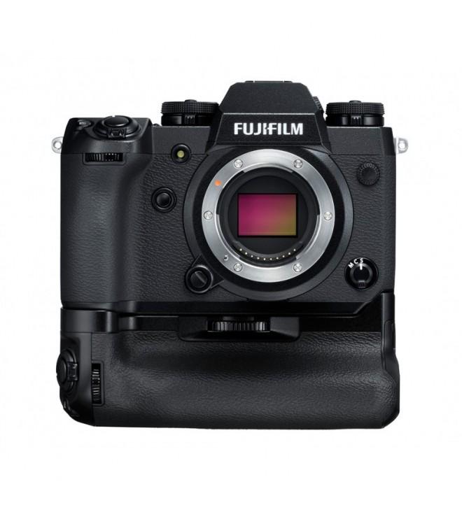 Fujifilm X-H1 Cámara digital sin espejo + Grip VPB-XH1, 24.3 Mpx, video 4K 30fps, color negro
