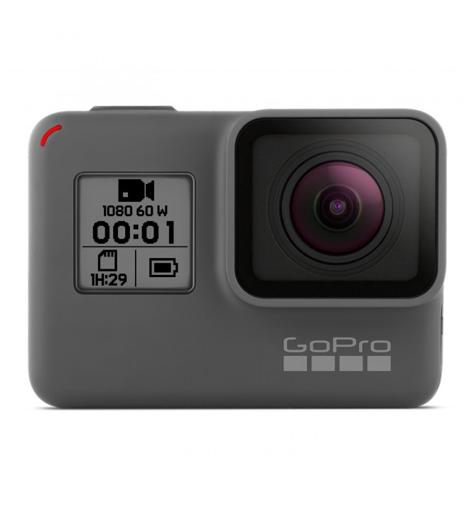 GoPro Hero 2018 - Videocámara de Acción (10 Mpx, Vídeo 1080p, Sumergible hasta 10m), Color Negro