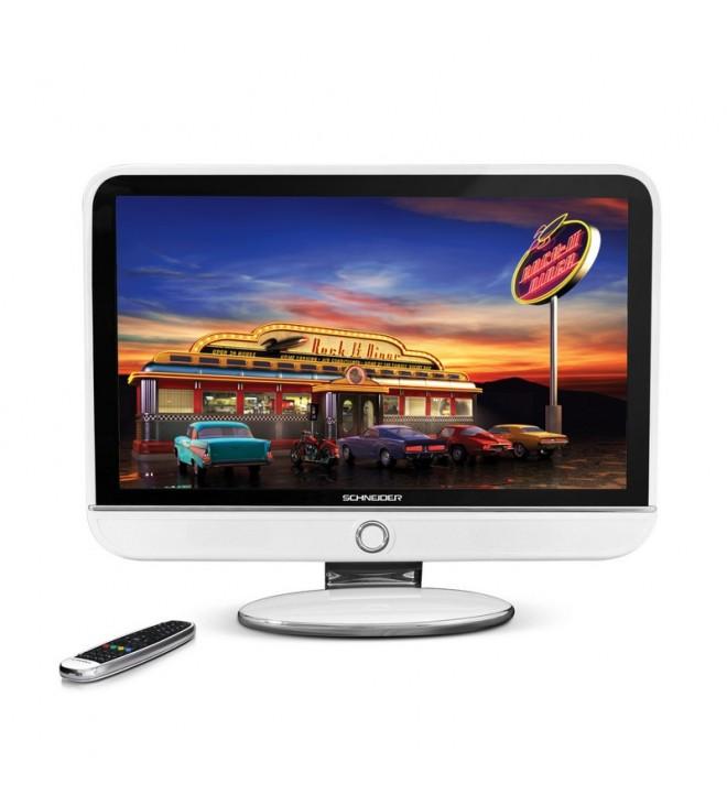 Schneider Feeling FHD - Televisor, pantalla 32 pulgadas, puerto USB, color Blanco