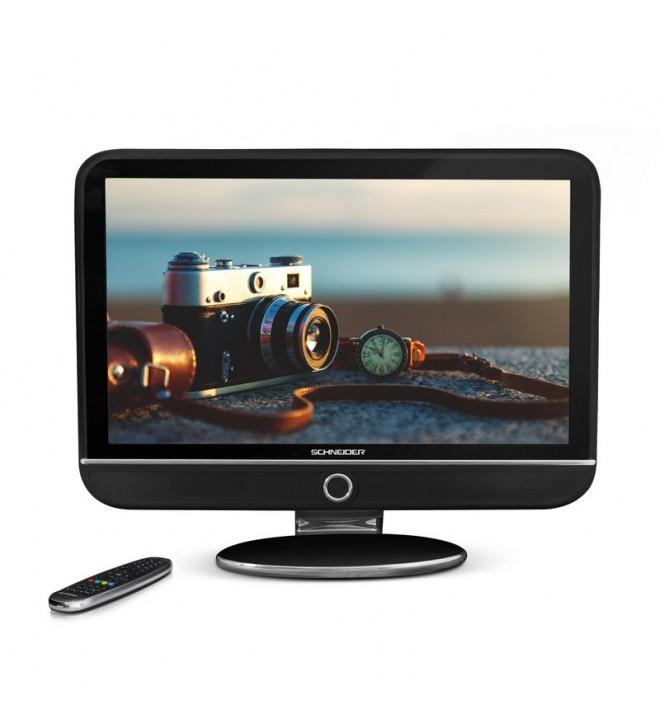 Schneider Feeling FHD - Televisor, pantalla 32 pulgadas, puerto USB, color Negro