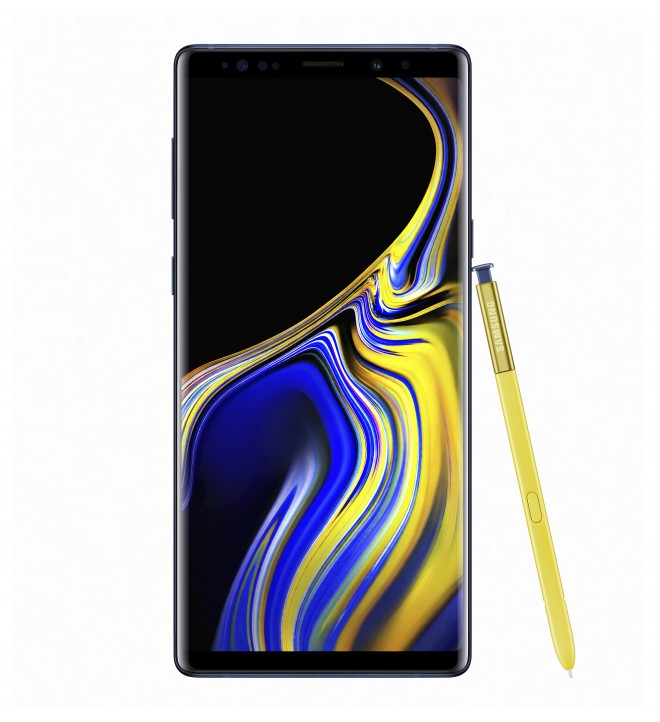 Samsung Galaxy Note 9 SM-N960F - Smartphone, memoria interna 512 GB, S Pen con bluetooth, color Azul