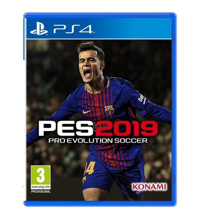 Pro evolution Soccer 2019 PES19 - Videojuego, diseñado para Playstation 4, PS4
