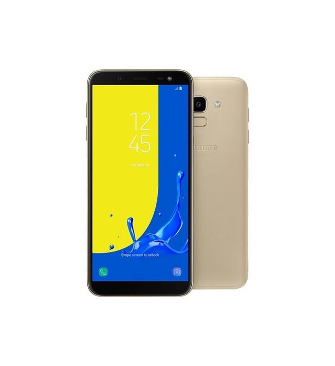 Samsung SM-J600 Galaxy J6 (2018) - Smartphone, pantalla 5.6 pulgadas, memoria interna 32 GB, Dual SIM, color Dorado