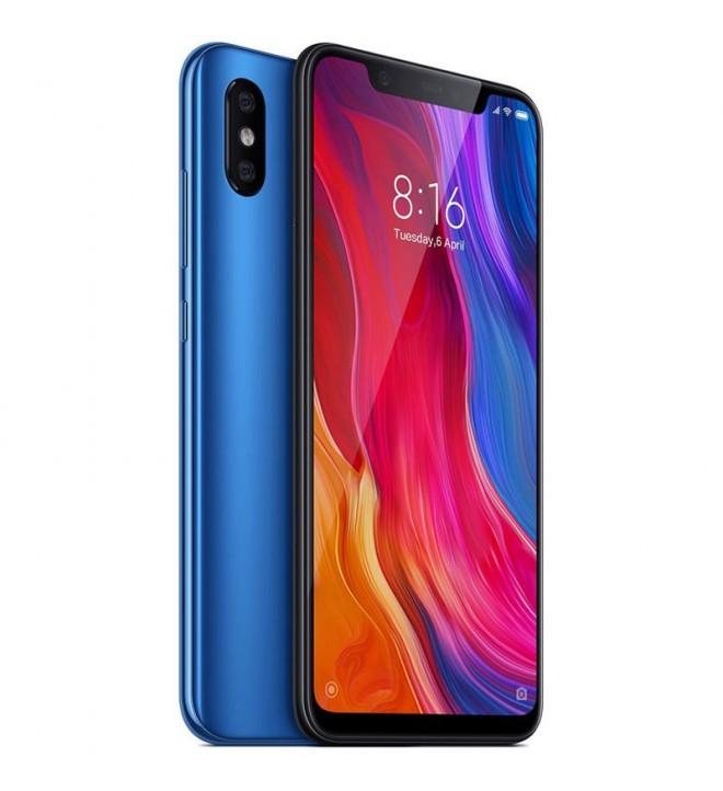 Xiaomi MI 8 - Smartphone, memoria interna 64 GB, color Azul