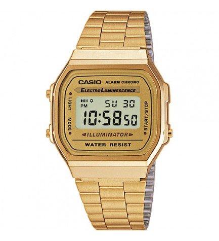 Casio A-168WG - Reloj,