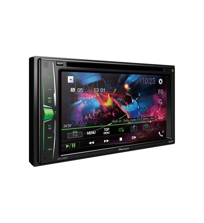 Pioneer AVH-A200BT - Reproductor multimedia, pantalla 6.2 pulgadas, táctil