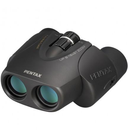 Pentax 8-16x21 UP - Prismáticos, incluye funda, color Marrón
