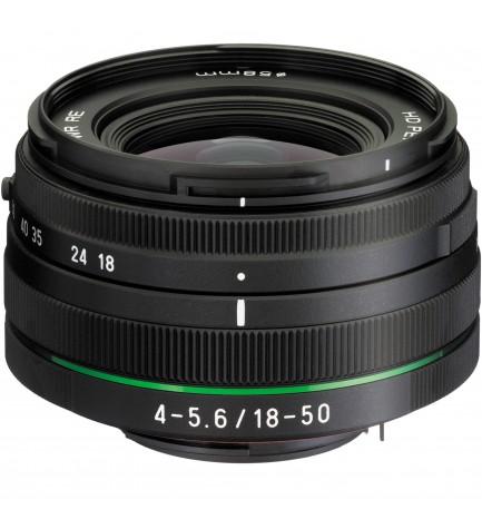 Pentax DA 18-50mm F4.0-5.6 DC WR - Objetivo,