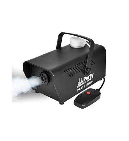 Party SM400 - Máquina de humo, mini, potencia 400w, color Negro
