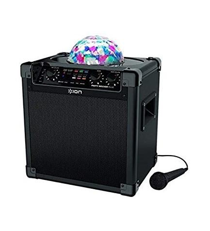 Party ROCKER - Altavoz bluetooth, potencia 50w, doble micrófono, conexión AUX, color Negro