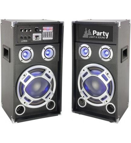 Party KARAOKE8 - Sistema Karaoke, potencia 300w, entrada SD