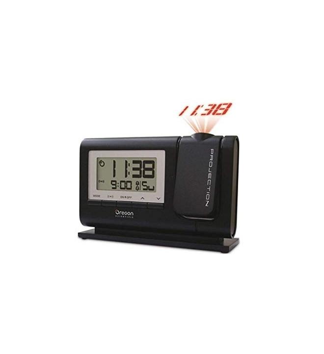 Oregon RM308P - Reloj, proyector incorporado, color Negro