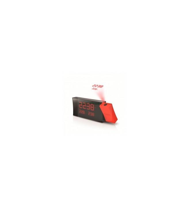 Oregon RMR-221-P PRYSMA - Reloj, proyector incorporado, color Rojo