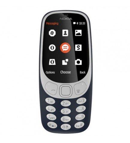 Nokia 3310 - Teléfono móvil, pantalla 2.4, Dual SIM, color Azul
