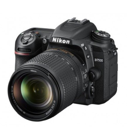 Nikon D7500 - Cámara réflex, incluye 18-140mm VR