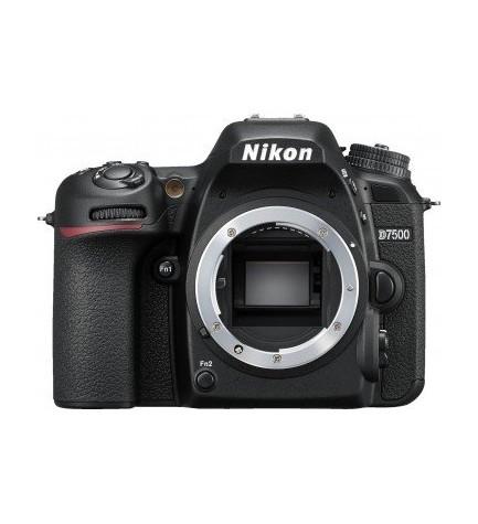 Nikon D7500 - Cámara réflex, sólo cuerpo