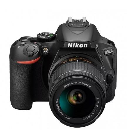Nikon D5600 - Cámara réflex, incluye AF-PDX 18-55mm VR