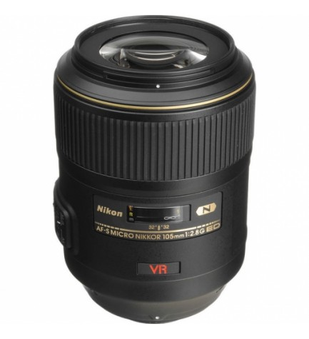 Nikon AF-S 105mm F2.8 G VR MICRO - Objetivo,