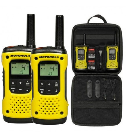 Motorola T92 H2O - Walkie Talkie, pack de dos