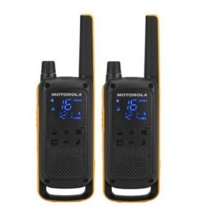 Motorola T82 - Walkie Talkie, pack de dos