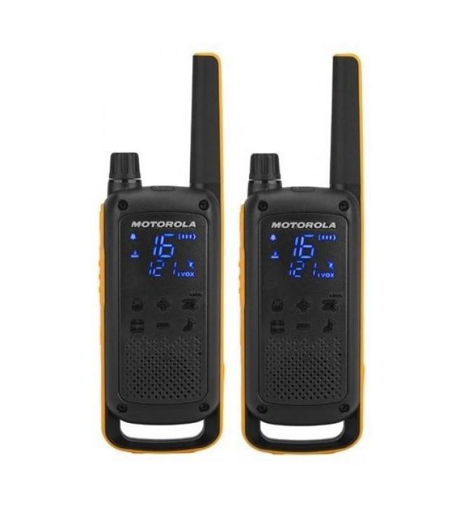 Motorola T82 - Walkie Talkie, pack de dos
