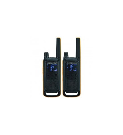 Motorola T82 - Walkie Talkie, RSM, pack de dos