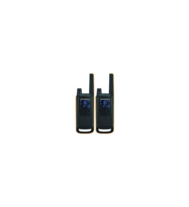 Motorola T82 - Walkie Talkie, RSM, pack de dos