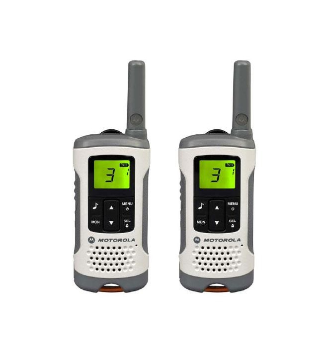 Motorola T50 - Walkie Talkie, hasta 6 km alcance, pack de dos, reacondicionado