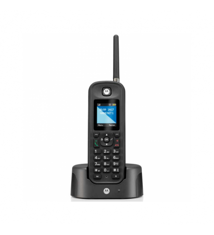 Motorola O201 - Teléfono inalámbrico, largo alcance